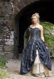 bella special weave silks tartan wedding dress scottish With scottish tartan wedding dress