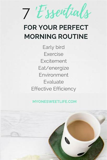 Morning Routine Perfect Routines Start Health Everyday