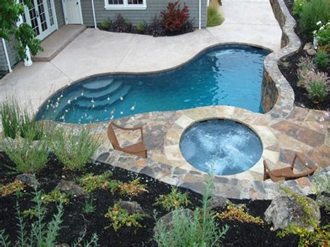 Small Above Ground Pools For Small Backyards by 243 Best Images About Small Inground Pool Spa Ideas On