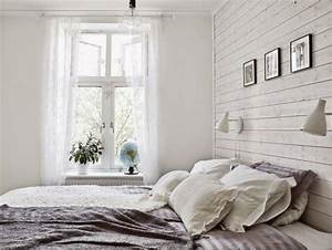 Tapeten Schlafzimmer Landhaus : wandpaneele aus holz wei lasieren 35 ideen f rs landhaus ~ Sanjose-hotels-ca.com Haus und Dekorationen