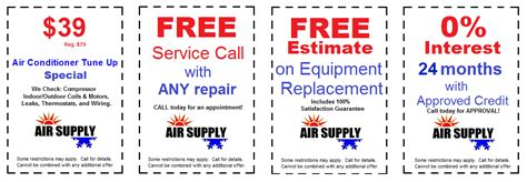 coupons air supply heating air conditioning las