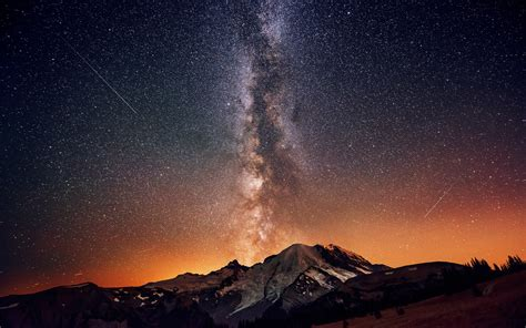 Stars Milky Way Night Sky Wallpaper 2560x1600 87637