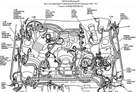1997 Mustang V6 Engine Diagram by 1997 Ford Mustang Horn I A 1997 Mustang Gt With