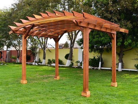 foreverredwood builds arched pergolas  wide range  arched pergola kits  gazebos