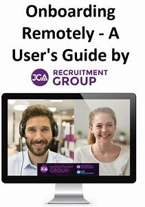 Free Remote Onboarding User Guide By Jga Recruitment