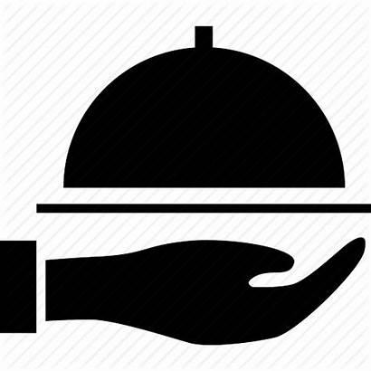 Icon Service Business Waiter Restaurant Vector Cafe