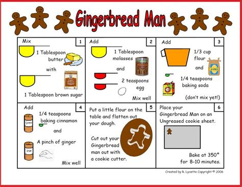 gingerbread recipe in pictures rebus recipes 603 | 680597b787914782dbaa597fe59fb087 gingerbread recipes gingerbread cookies