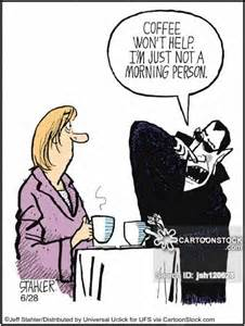 Funny Morning Coffee Cartoon