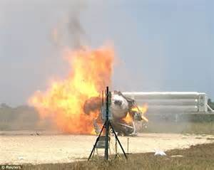 NASA's Morpheus crash at Cape Canaveral Kennedy Space ...