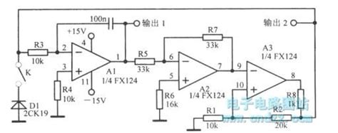 Low Frequency Oscillator With Different Waveforms