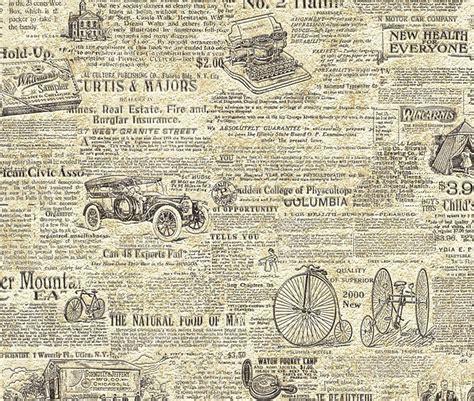 Old Newspaper Wallpaper