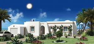 construire en tunisie avec les plans de maisons nejma avec With modele de maison a construire en tunisie