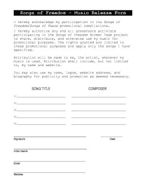 16310 artwork release form 2 sle artist statement forms and templates fillable