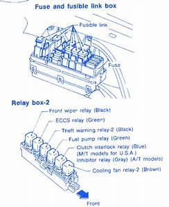 Infiniti G20 1998 Fuse Box  Block Circuit Breaker Diagram