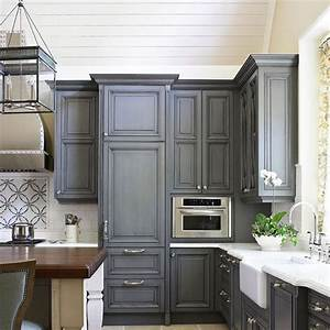 Kitchen, Cabinets, With, Furniture