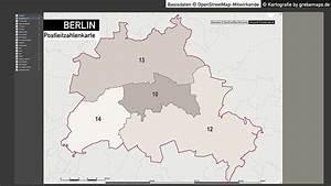 Berlin Plz Karte : berlin karte postleitzahlen plz 5 vektorkarte grebemaps kartographie ~ One.caynefoto.club Haus und Dekorationen