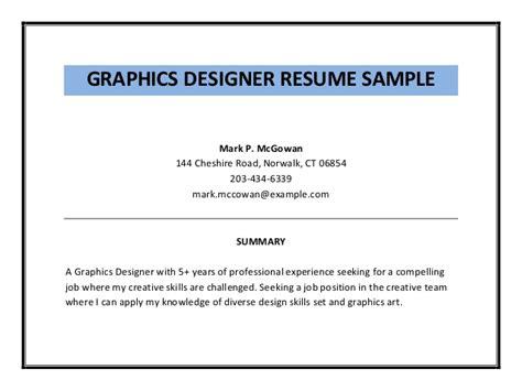 graphic designer work experience resume graphic designer resume sle pdf