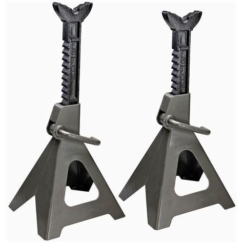 Tall Jack Stands by 6 Ton Jack Stand Set