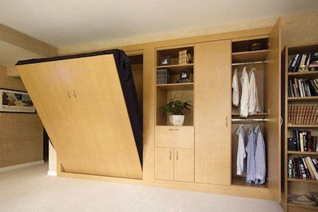 great murphy bed and closet combo home around the house