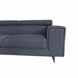 canape d39angle droit design 5 places avec meridienne With tapis de couloir avec canapé d angle profond