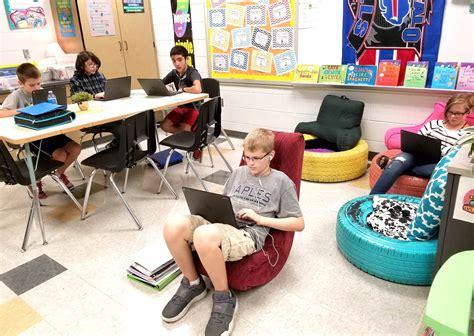 grade teachers shift  flexible seating world