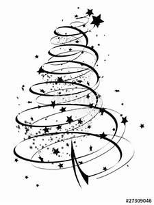 Weihnachtsmotive Schwarz Weiß : abstrakter tannenbaum mit partikel stockfotos und lizenzfreie vektoren auf bild ~ Buech-reservation.com Haus und Dekorationen
