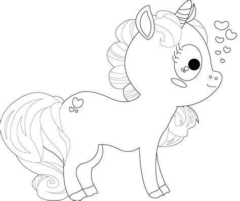 kumpulan mewarnai gambar unicorn anak tk paud