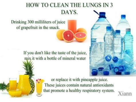 How To Clean The Lungs In 3 Days