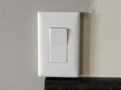 cabinet light switch