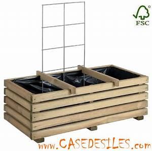 Bac En Bois Pour Potager : carre potager bois ~ Dailycaller-alerts.com Idées de Décoration