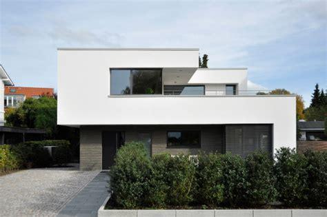 Moderne Einfamilienhäuser Bauhausstil by Einfamilienhaus In Hamburg Mauerwerk Wohnen Efh