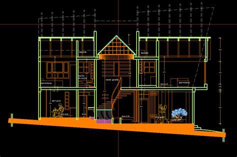 home design cad house 2d dwg plan for autocad designs cad