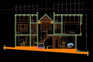House 2d Dwg Plan For Autocad  U2022 Designs Cad