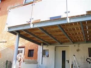 stahlkonstruktionen With französischer balkon mit garten überdachung freistehend