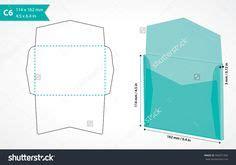 c6 envelope template ai haz tus propios sobres con el papel que quieras cajas de