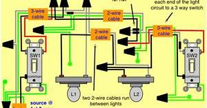 Wiring 4 Way Switches Diagram With 2 Lights