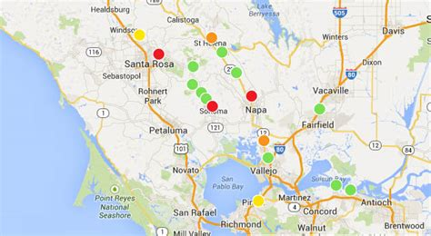 san francisco bay area hit  strongest earthquake
