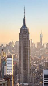 New York City Buildings At Day Sunlight A6 Wallpaper