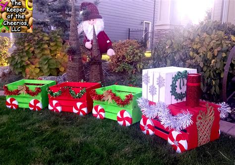 christmas crate train christmas christmas decorations