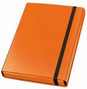 Document box velocolorr a4 orange veloflex for Documents box orange