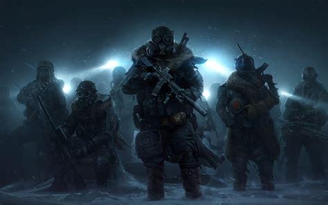 wallpaper wasteland  ranger squad  games