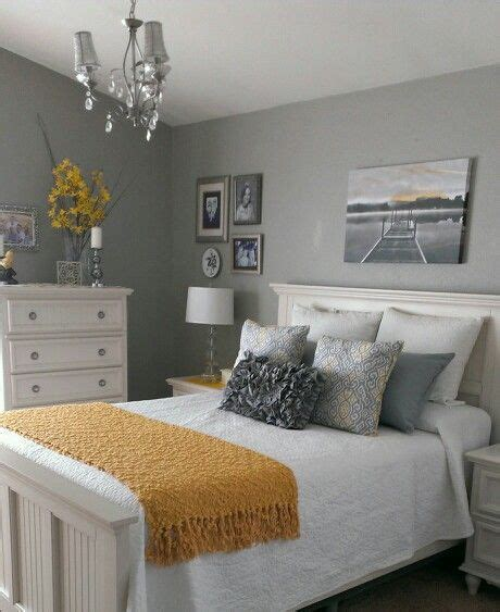 Yellow And Grey Bedroom Decor Ideas by Gray And Yellow Bedroom Home Ideas Bedroom Decor Home