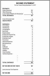 Sample Income Statement | Free Income Statement Template