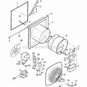 Broan 506b Parts List And Diagram   Ereplacementparts Com