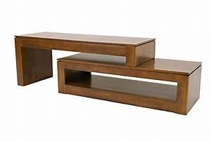 Meuble Cache Tv : meuble tv vid o modulable en h v a 2 parties 5968 ~ Premium-room.com Idées de Décoration