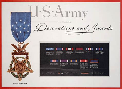 awards and decorations us army us medals and ribbons chart beautiful scenery