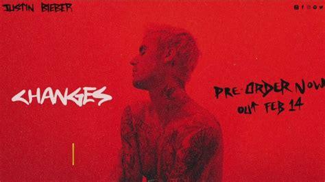 ここへ到着する Justin Bieber Changes Album Cover - ガスタメゴ