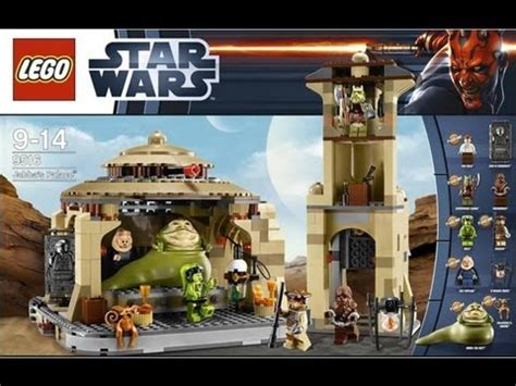 lego star wars jabbas palace  review lego espanol