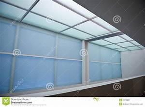 Interior recessed lighting royalty free stock photography