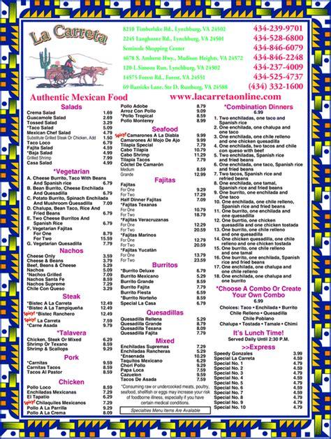 La Carreta, Lynchburg, VA 24501-1114 | - Yellowbook